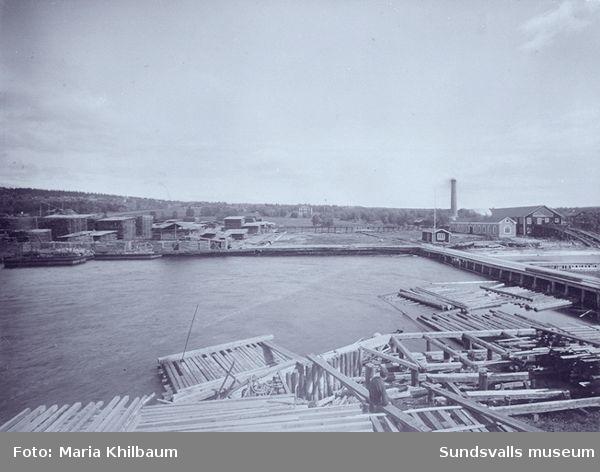 Sågverk på Alnö, Alvik, senare Fanerfabrik