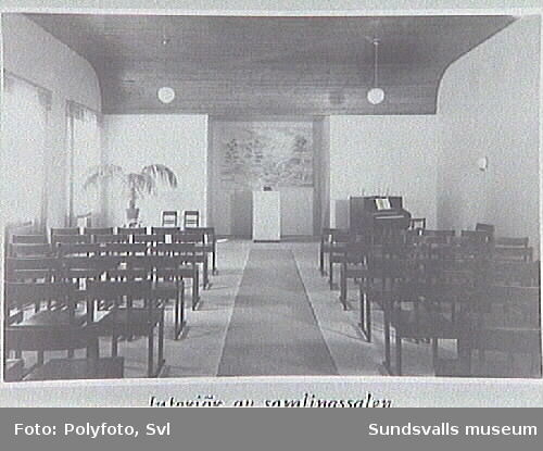 Album tillägnat fattigvårds-syssloman Bernhard Salomon 1941.