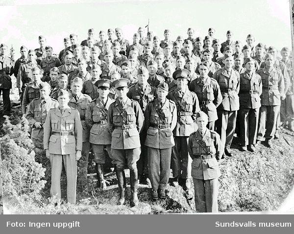 Befäl och militärer, bl.a. Erik Edblad, Lv5.