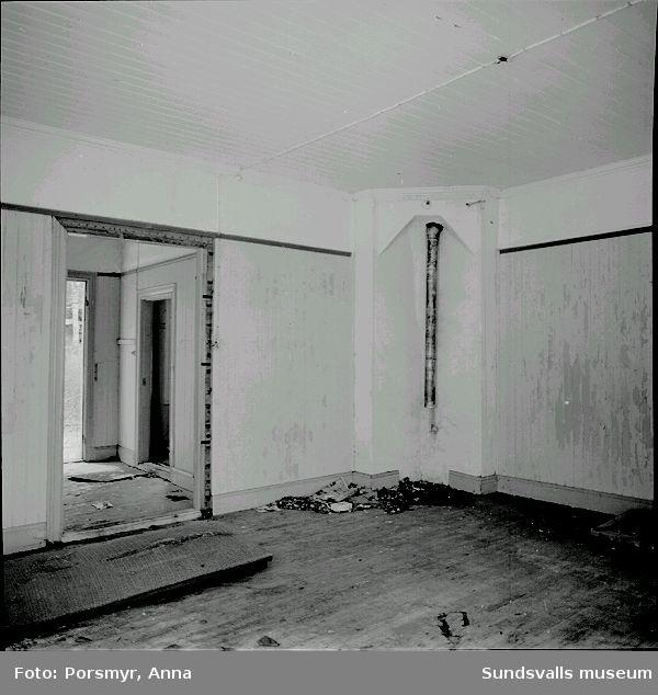 Kyrkskolan i Tuna. Dokumentation inför rivning 1997. Peter Sundborg