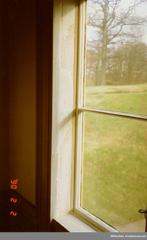 Ett fönster som tillhör slottet.