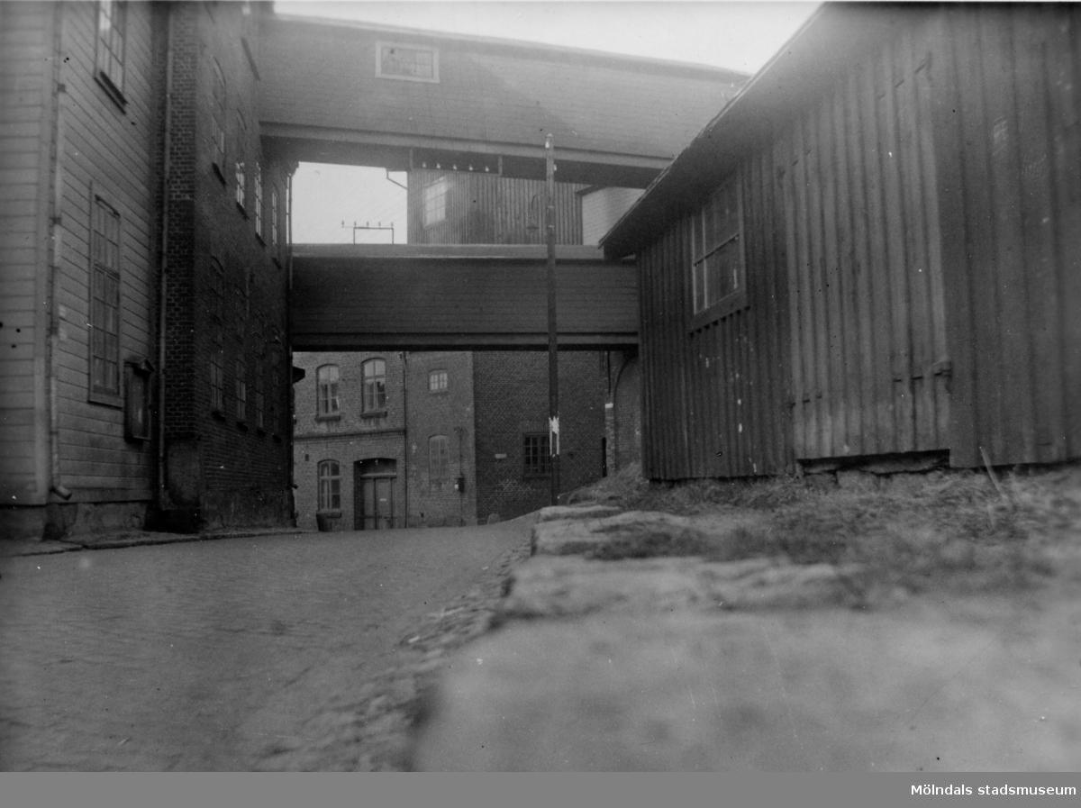 Kråkliden (Kvarnbygatan) omkring 1935.