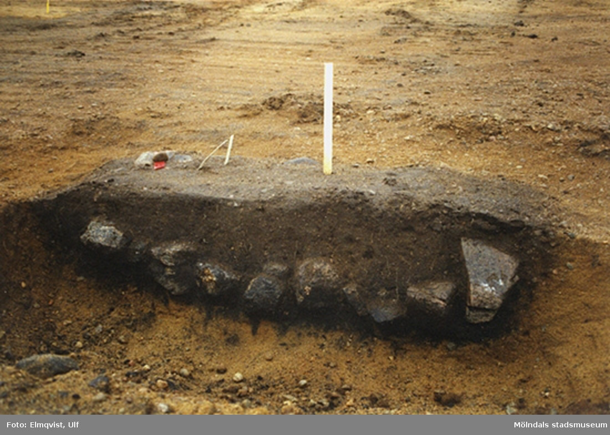 Arkeologisk utgrävning i Tulebo.