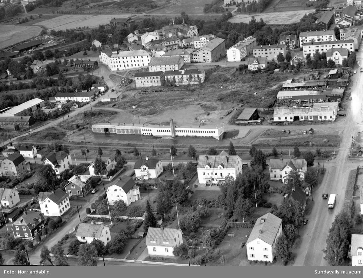 Flygfoton över Grönborg och Åkroken, Västermalm.