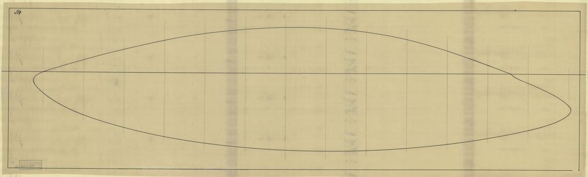 Vattenlinjeritningar, ev. till 6 meters r-jakter,