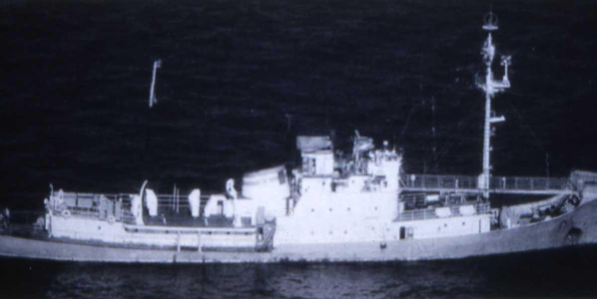 Russisk fartøy av Modifisert Mirny - klassen.