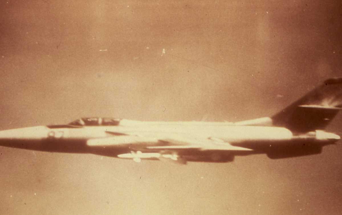 Russisk fly av typen Firebar, sannsynligvis med nr. 82.