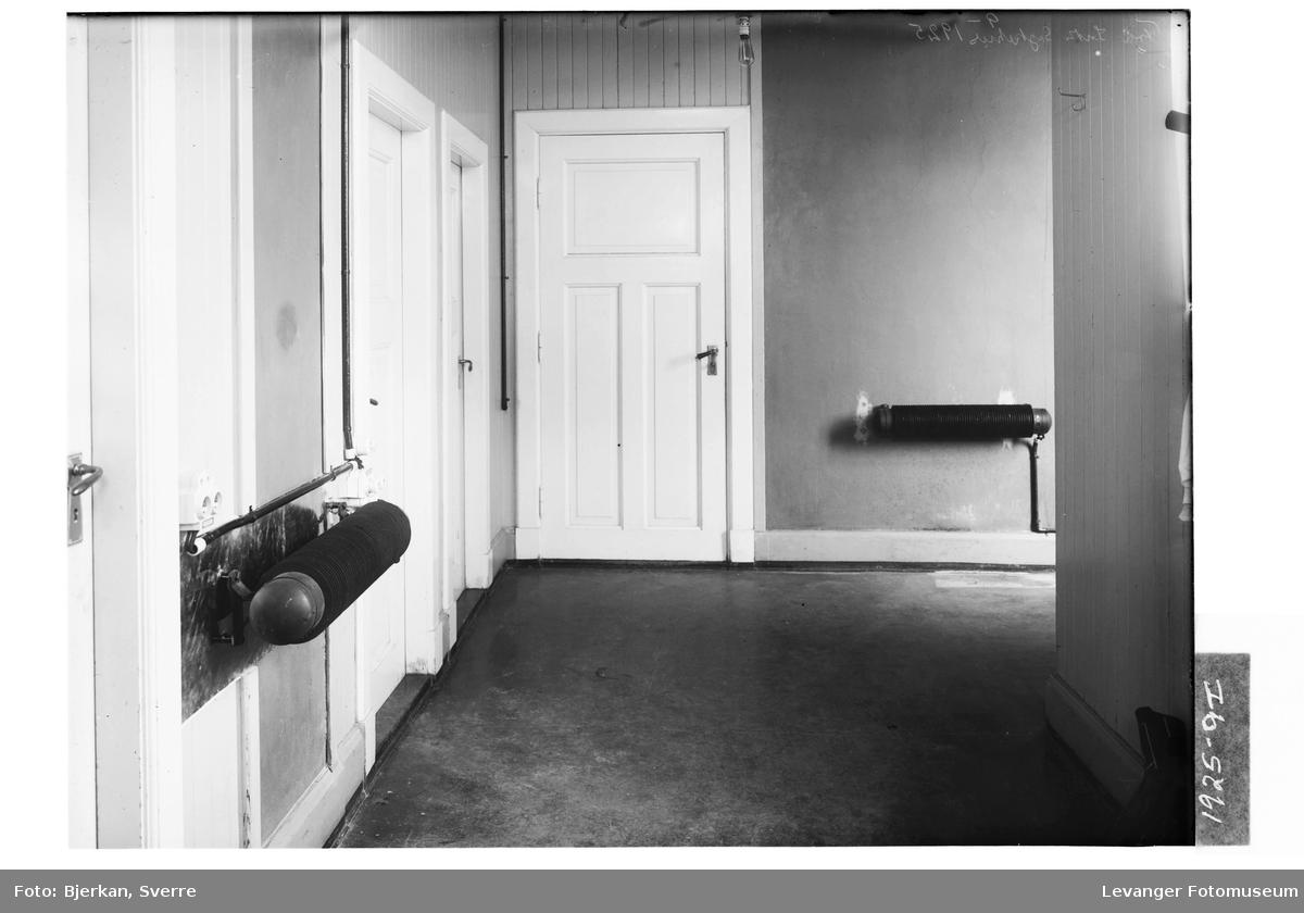 Elektriske installasjoner, ribbeovner, på midten av 1920-tallet