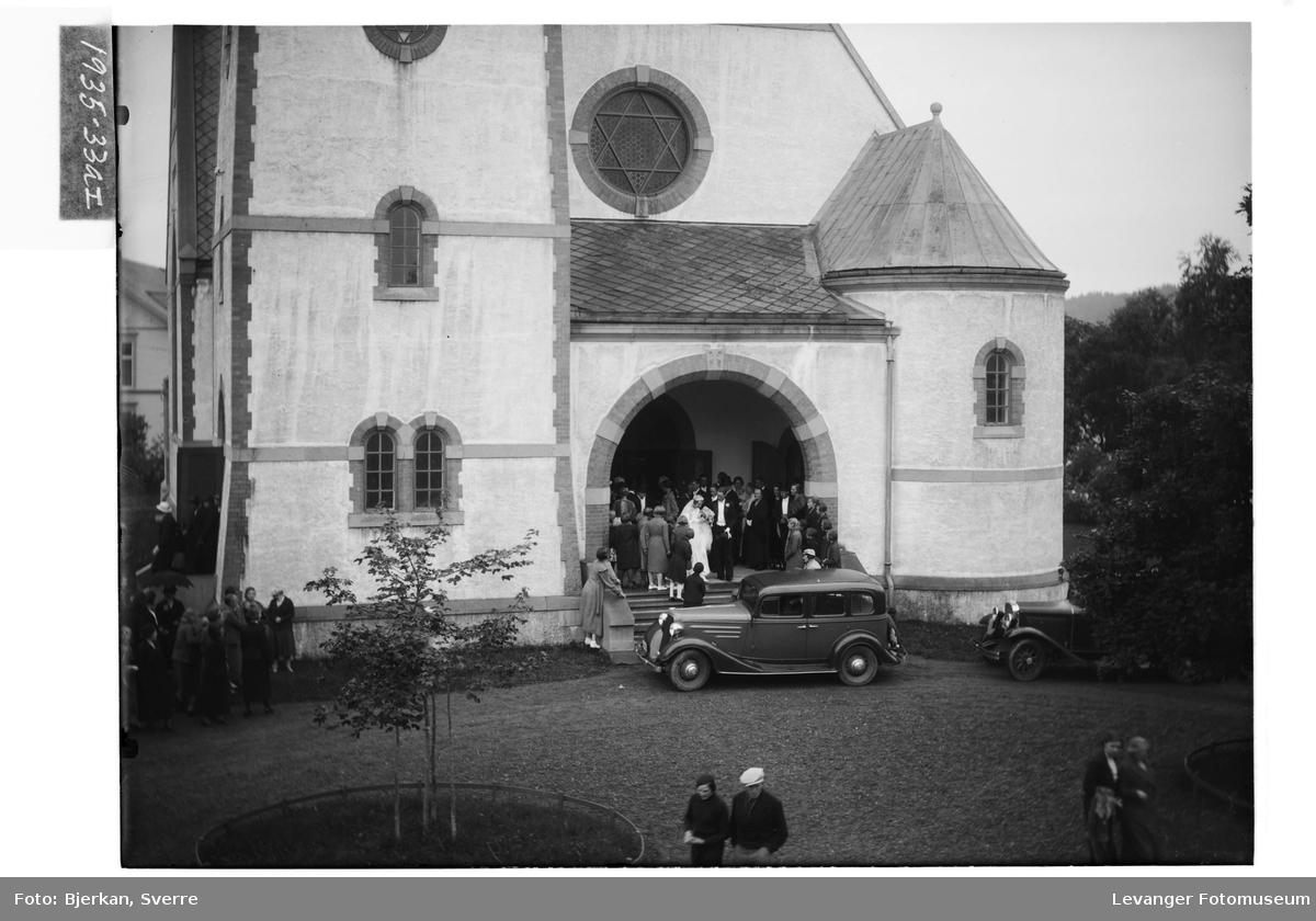 Brudeparet Martens i Levanger Kirke I