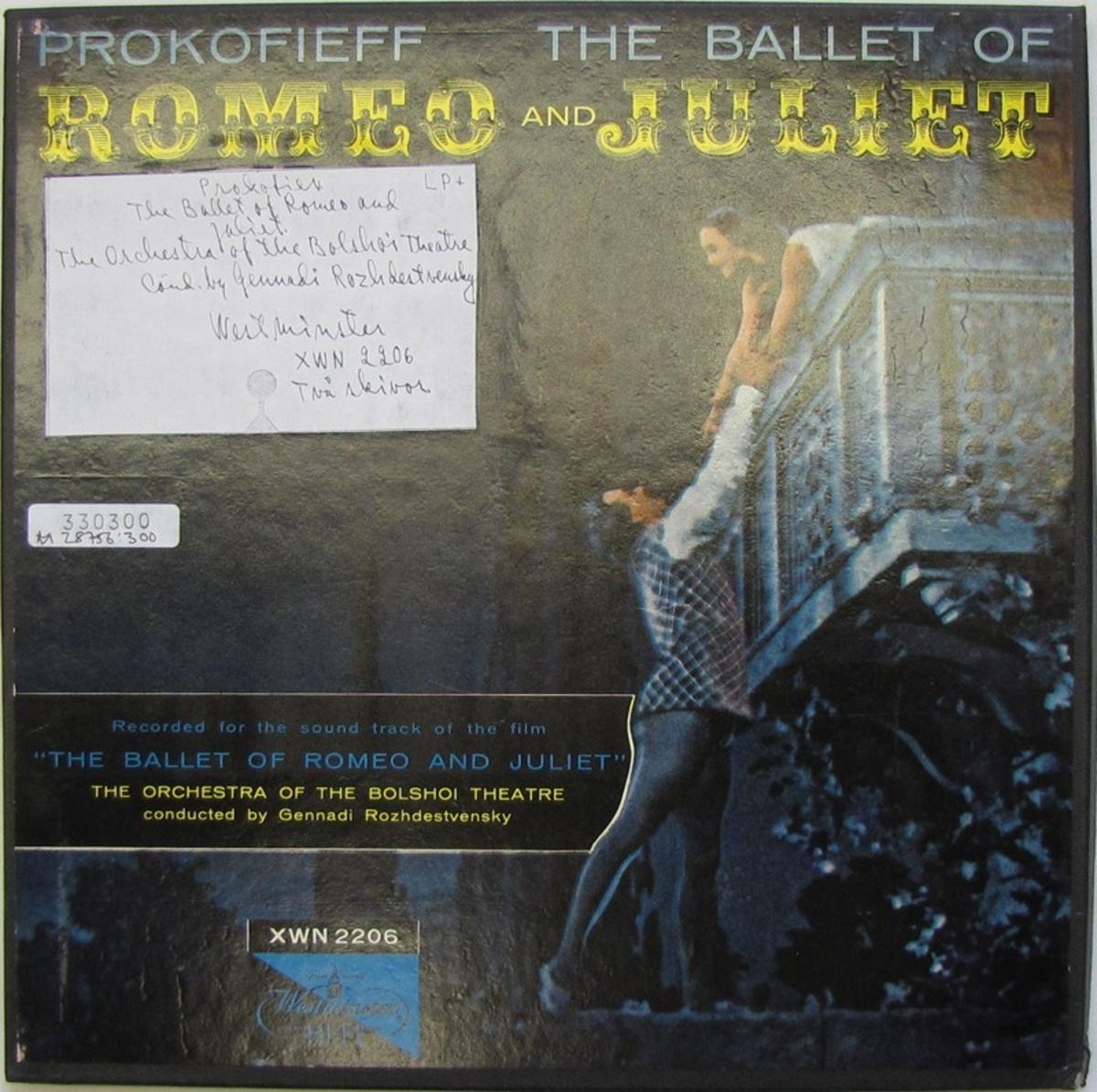 2 st LP-skivor av märket Westminster