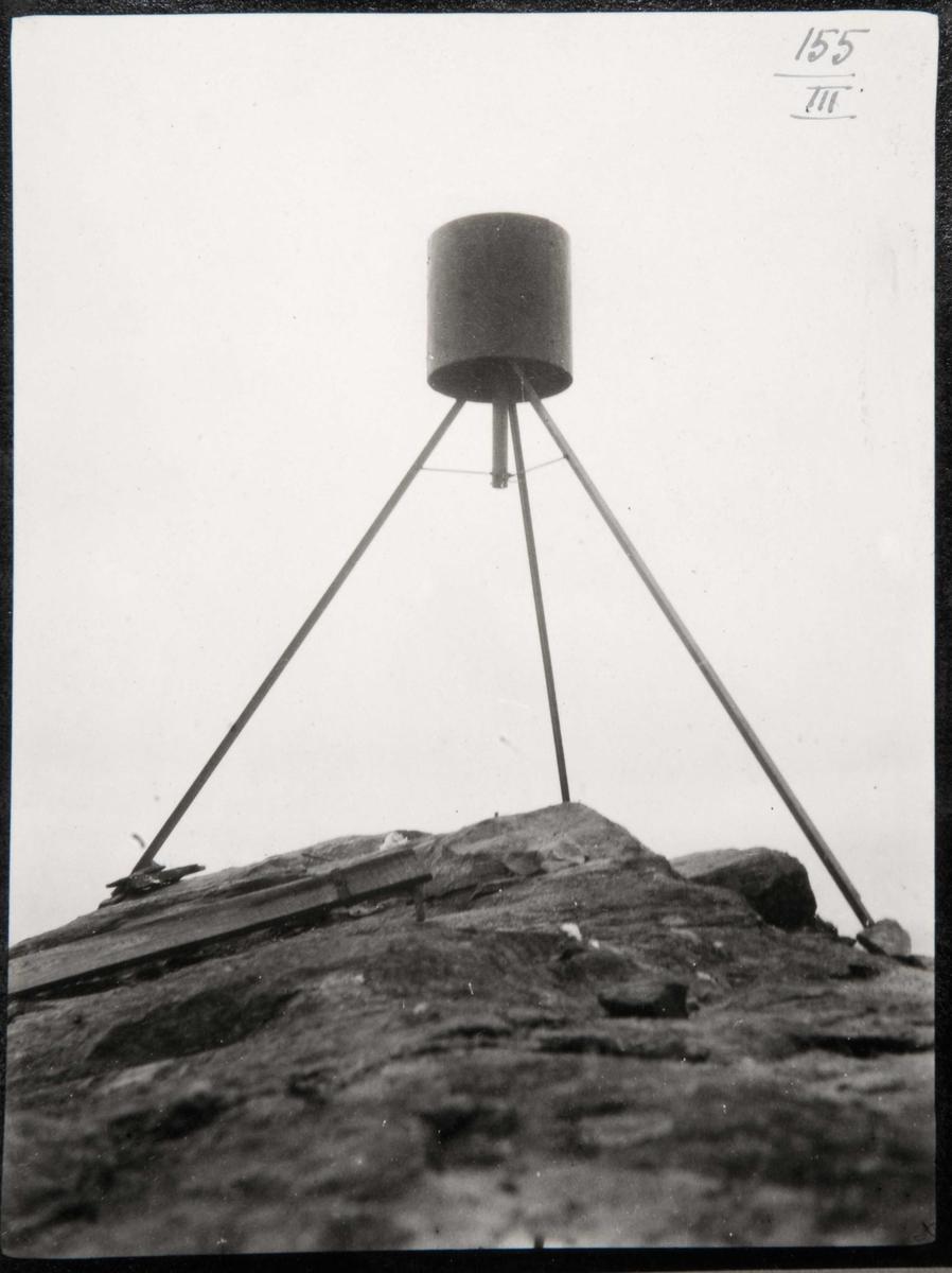 GEODESI.Trigonometriske signaler:rundt signal,Hodnefjell.