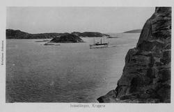 Postkortserie fra Kragerø før 1900, 10 stk