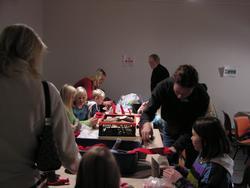 Juleverksted på Berg-Kragerø Museum,  20.11.2005