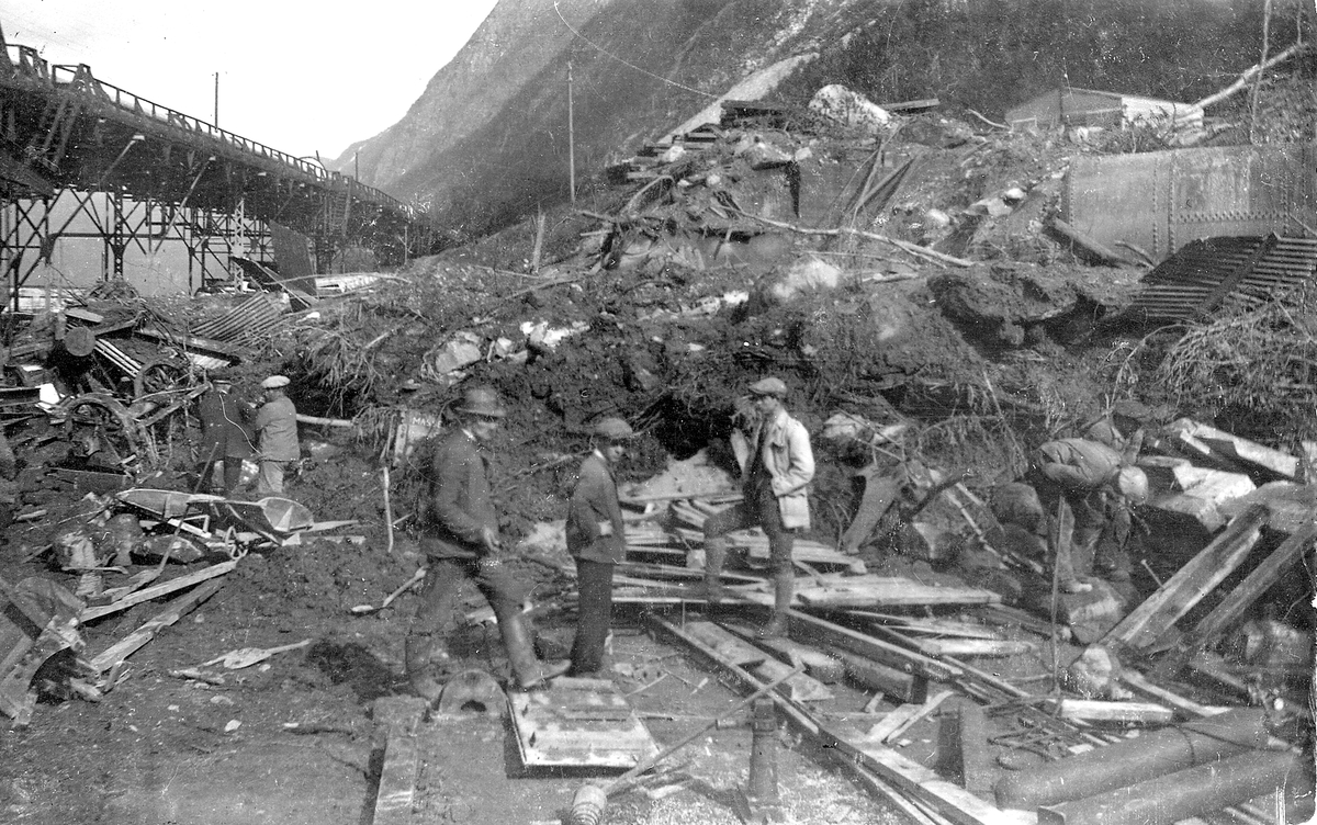 Raset Rjukan 1927.