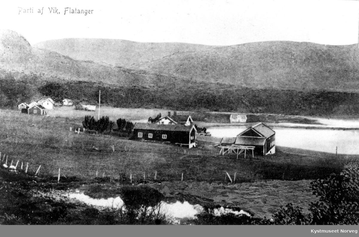 Parti af Vik, Flatanger.