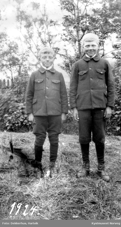 Kolbjørn og Øystein Waagø
