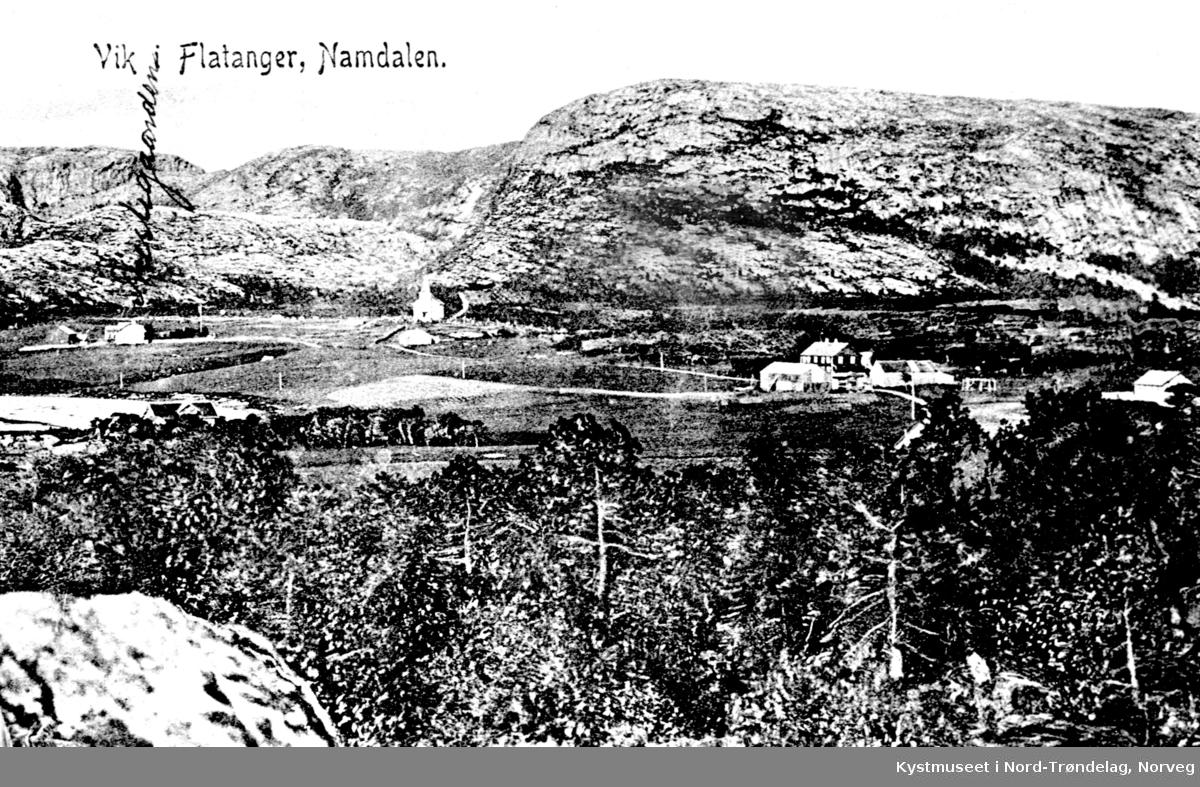 Postkort fra Vik i Flatanger