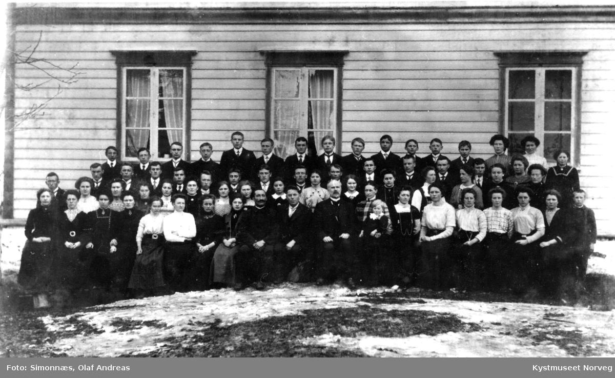 Namdal Folkehøyskole 1911-1912 i Namsos kommune