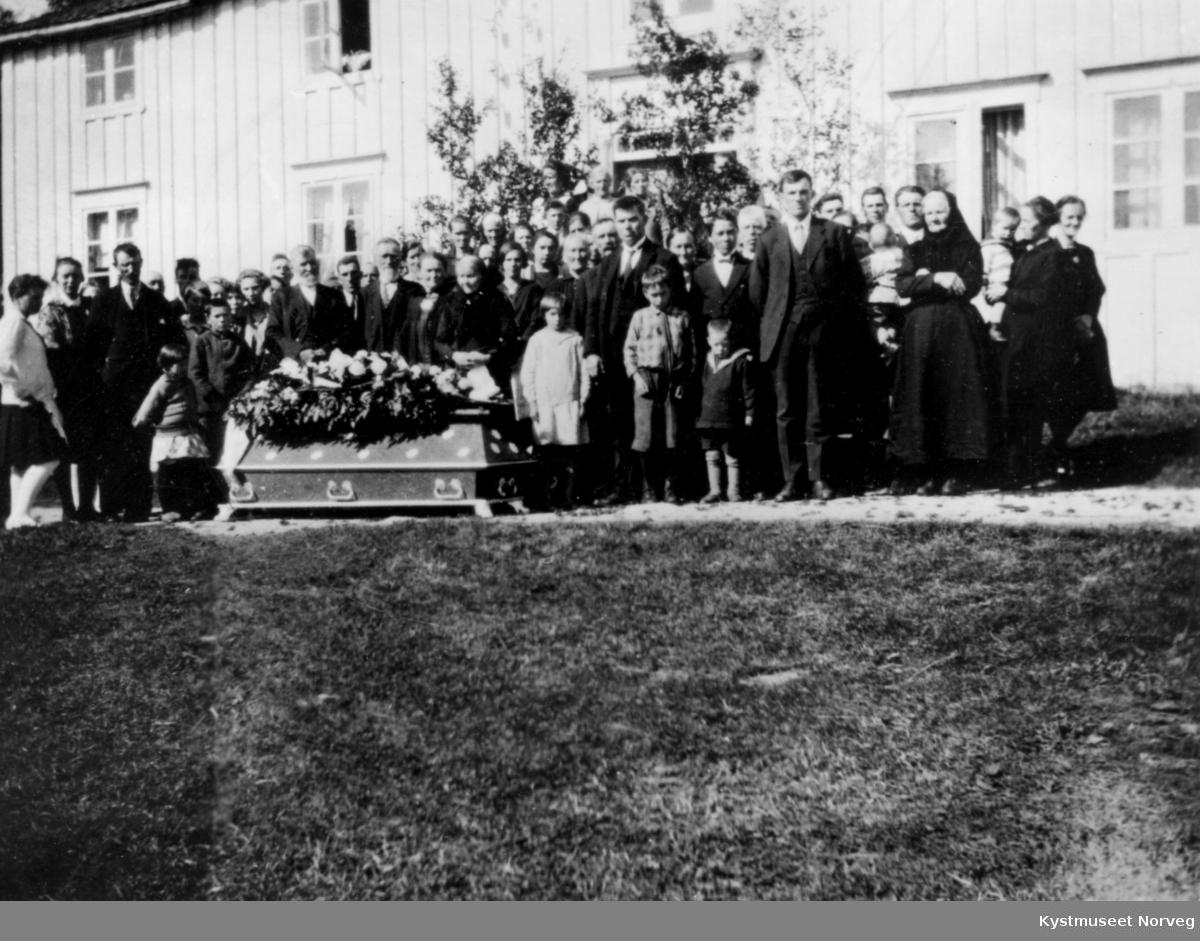 Lorntz Rasmussens begravelse