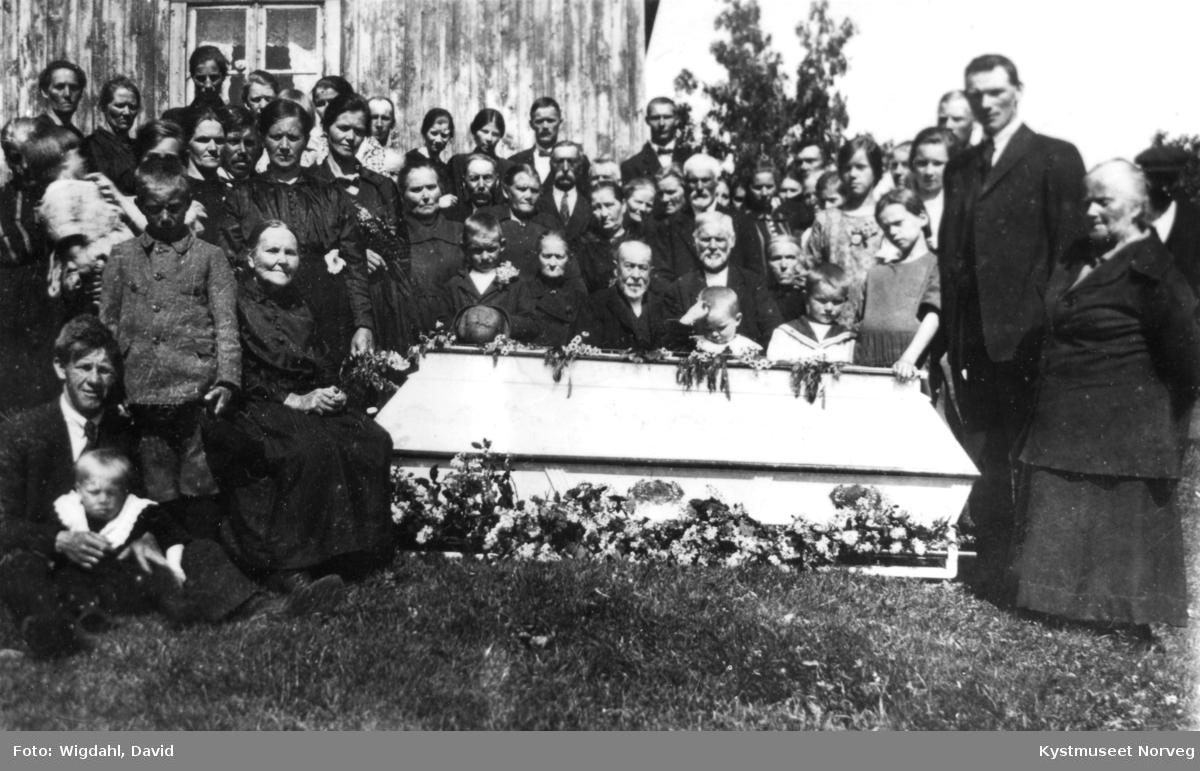 Albert Olsen`s begravelse