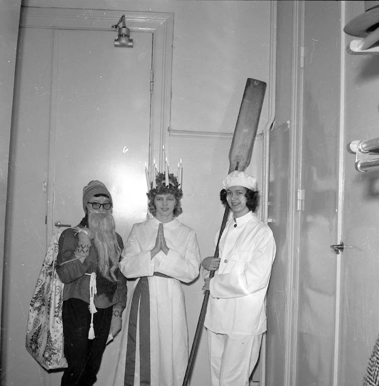 """""""Luciafirande i Uddevalla december 1960"""""""