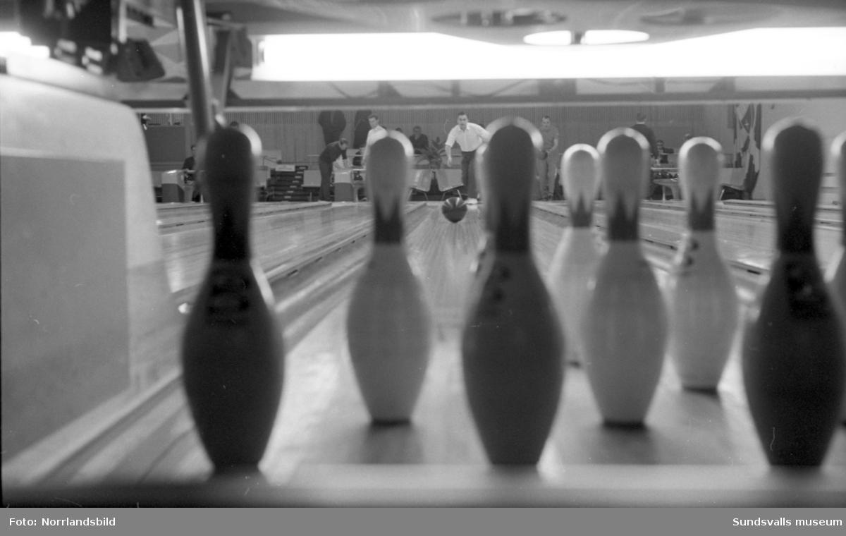 Bowlinghallen i Sundsvall. (Ryd och S. Nordin.)