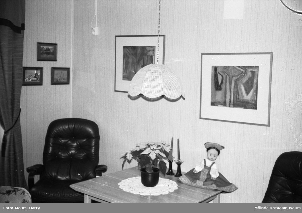 Rum på Sagåsens vårdhem i Kållered, år 1983.