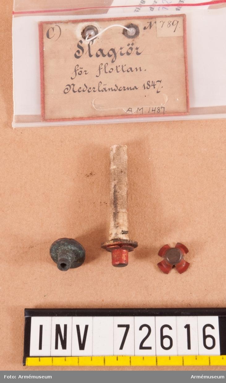 Grupp F.II. Slagrör för marinen 1847, Nederländerna.