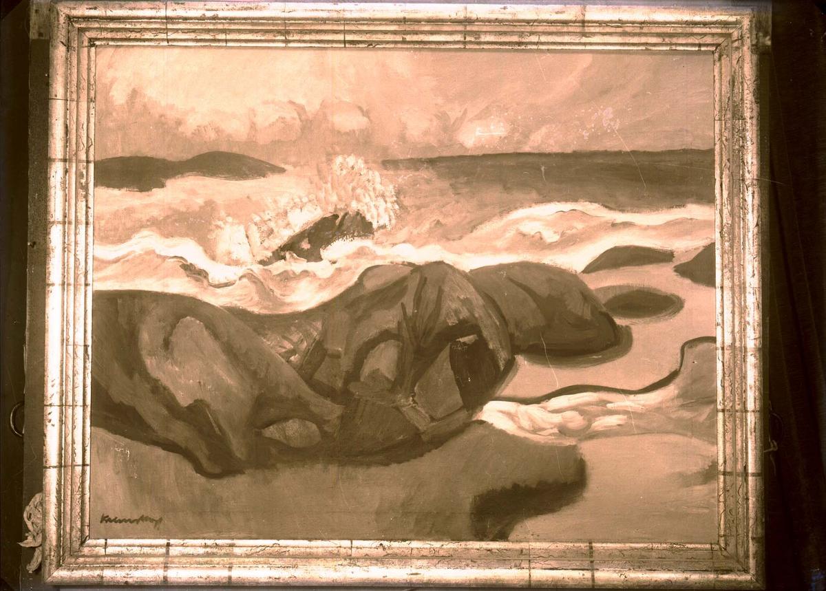 Foto av et maleri.