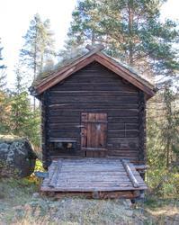 Kvernhus stod i Bergsån og hørte til Nestegard i Hovet