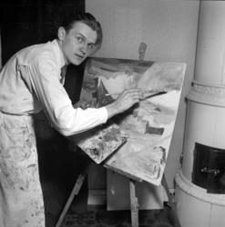 Ulf Grimås, konstnär.
