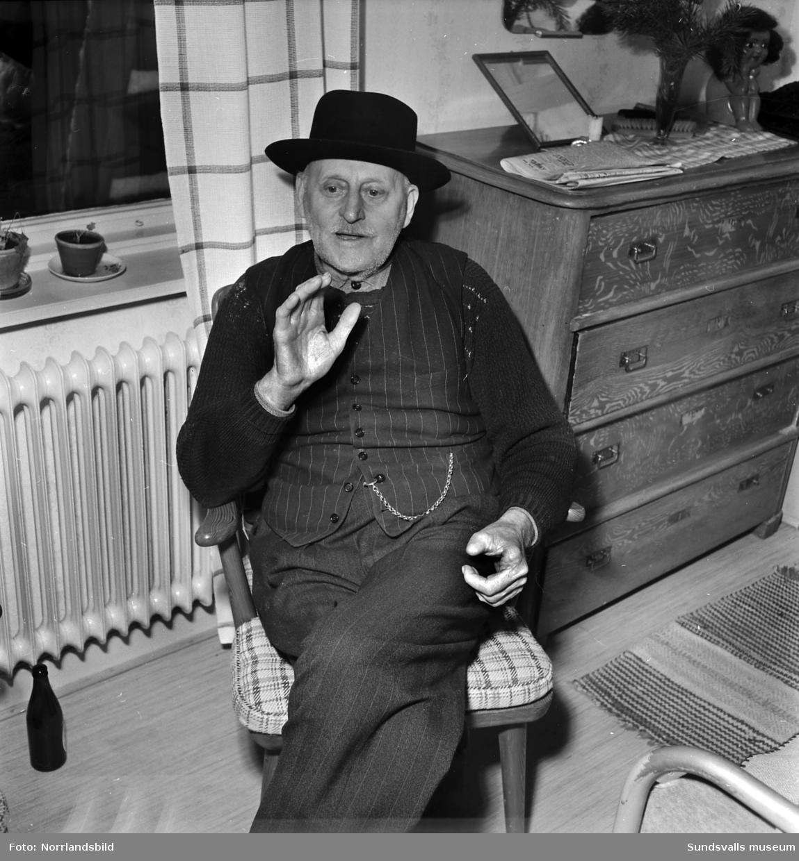 Herman Langelius, Nedansjö.