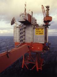Boligplattformen Valhall QP ble bugget i 1979 og tatt i bruk