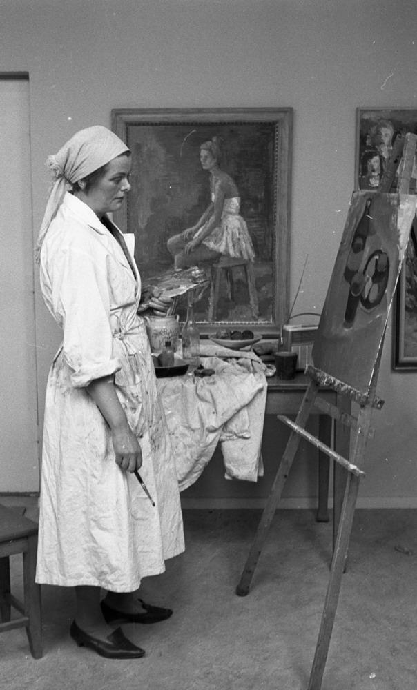 Konstnär Maria Lundberg 3 april 1965