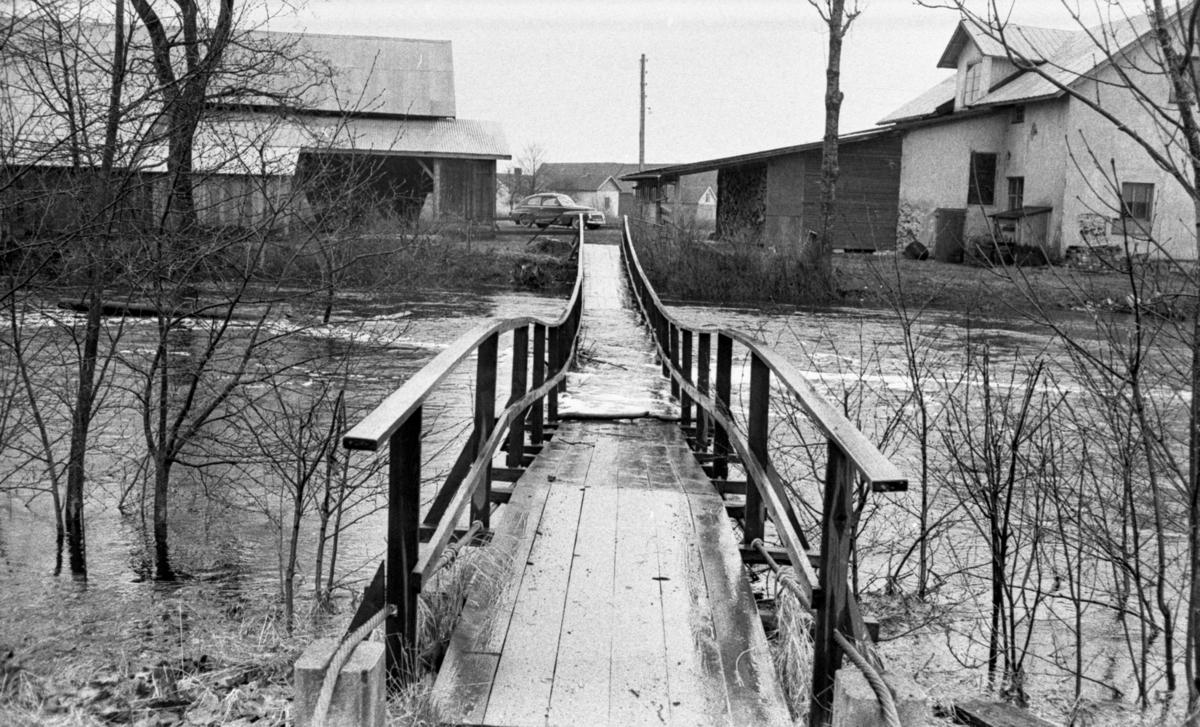 Översvämningar av Tysslinge 7 maj 1966