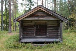 Matbu / stabbur fra Allmennholtet, Våler (Foto/Photo)