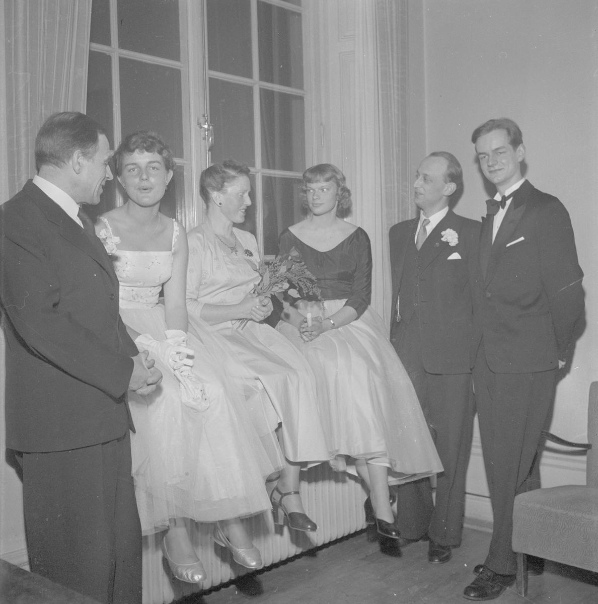 Estniska studentföreningen på Göteborgs nation, Uppsala april 1955