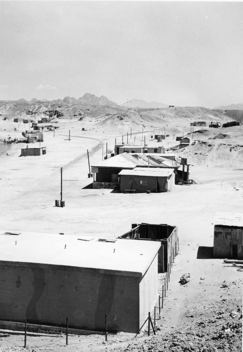 Utrikestjänst, FN. Gaza, bataljon II. Campen i Sharm el Sheik.