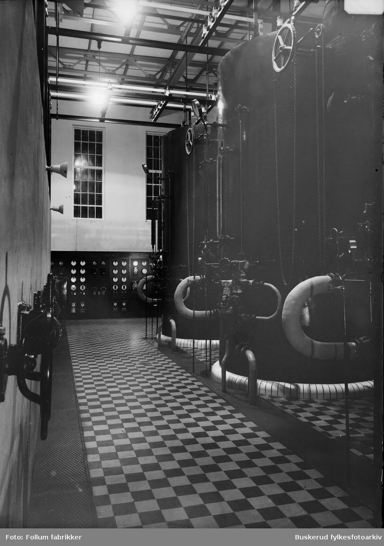 Elektro-fyrhus, fotografert fra fyrmesteren kontor  1926/27