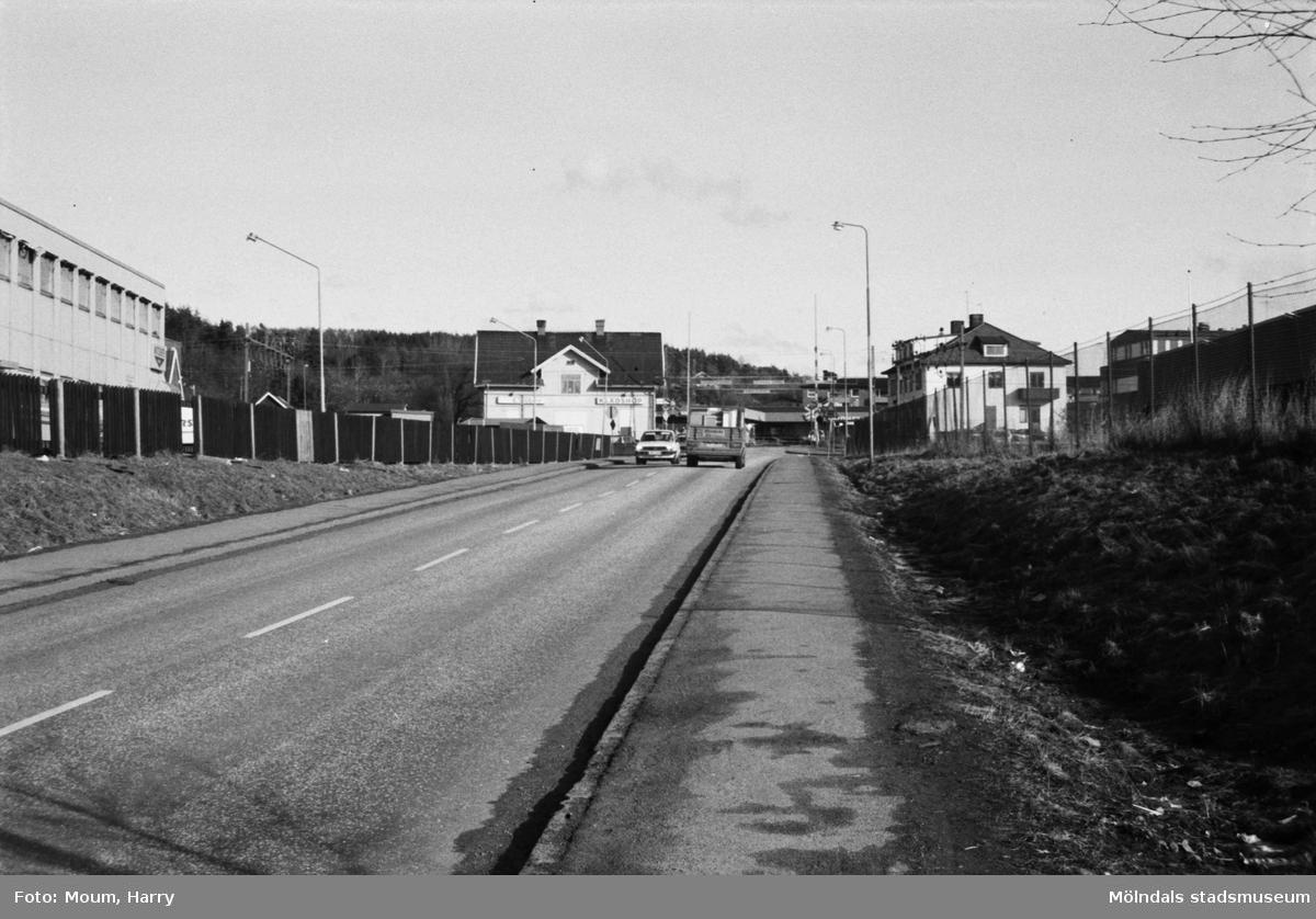 I fonden ses Kållereds stationshus.
