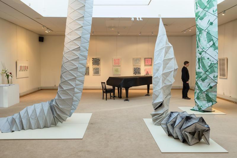 Kunstutstilling i galleriet januar 2016