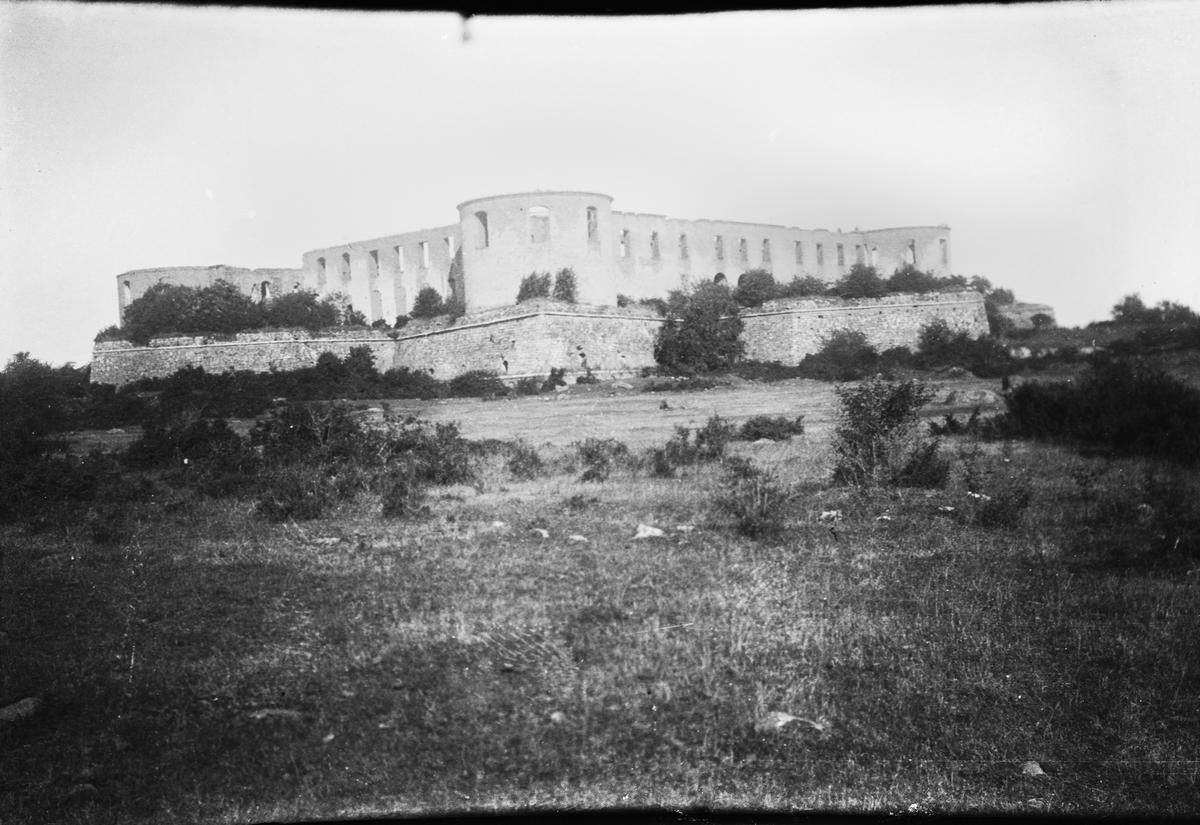 Drottning Victorias bilder. Borgholms ruin.