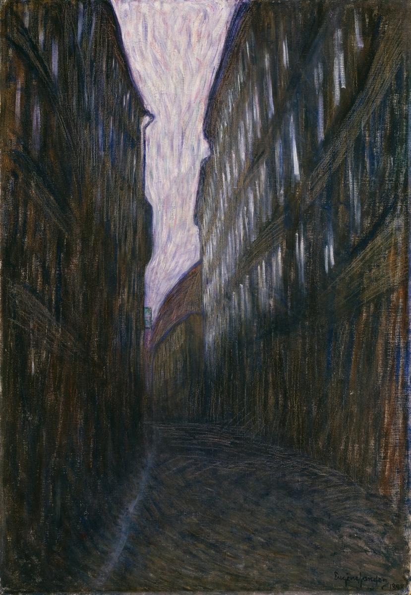 Sommernatt [Maleri]