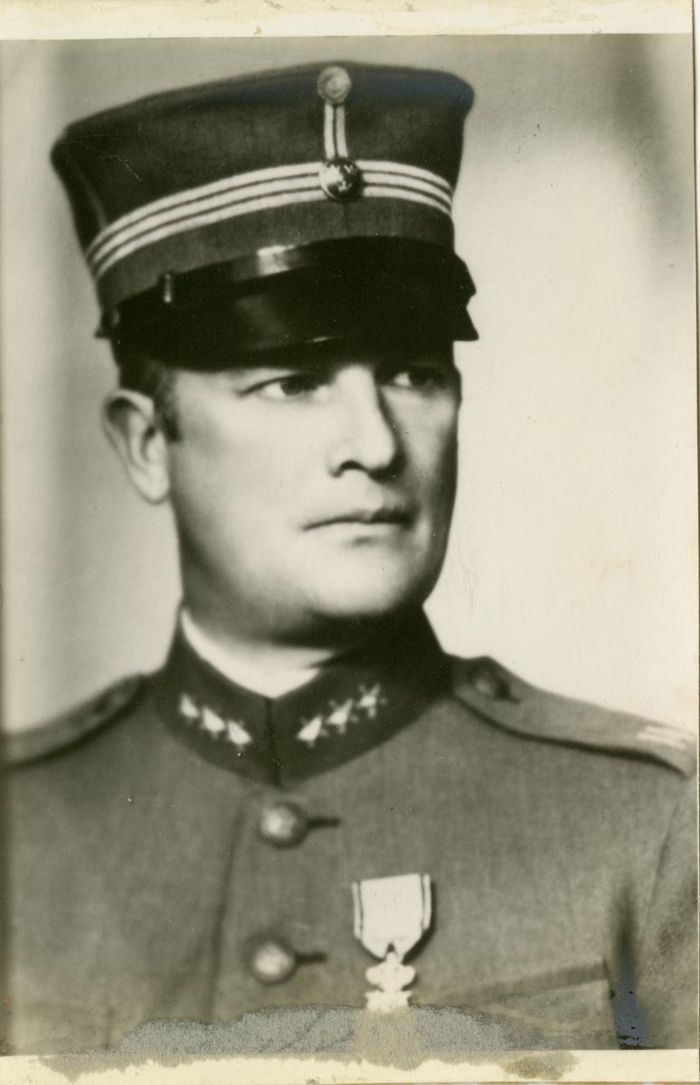 Porträtt av Carl Wilhelm Dahlerus, kapten vid hälsinge regemente I 14.