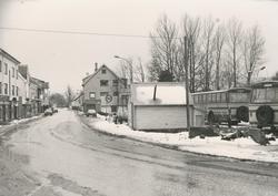 Dokumentasjonsbilder i serie av flytting og transport av Sko