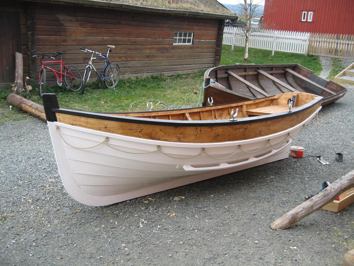 Lifeboat for the steamboat Hansteen. (Foto/Photo)