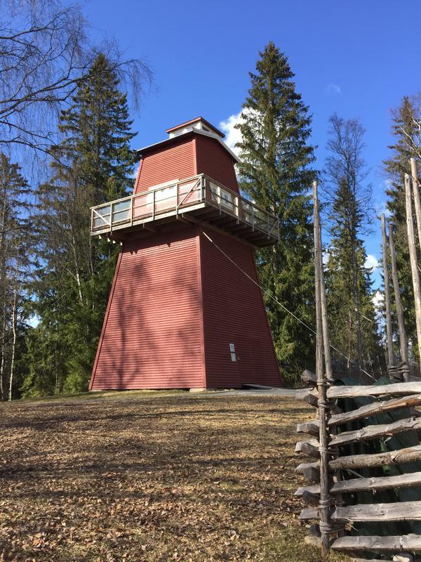 Brannvakttårnet på Norsk Skogmuseum (Foto/Photo)