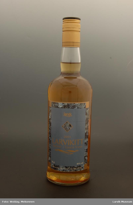 Akevitt flaske, nr.0001 av 2989 stk.