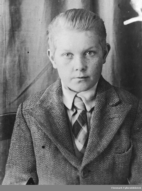 Bildet tatt i Sovjet under krigen. Person på bildet ukjent.