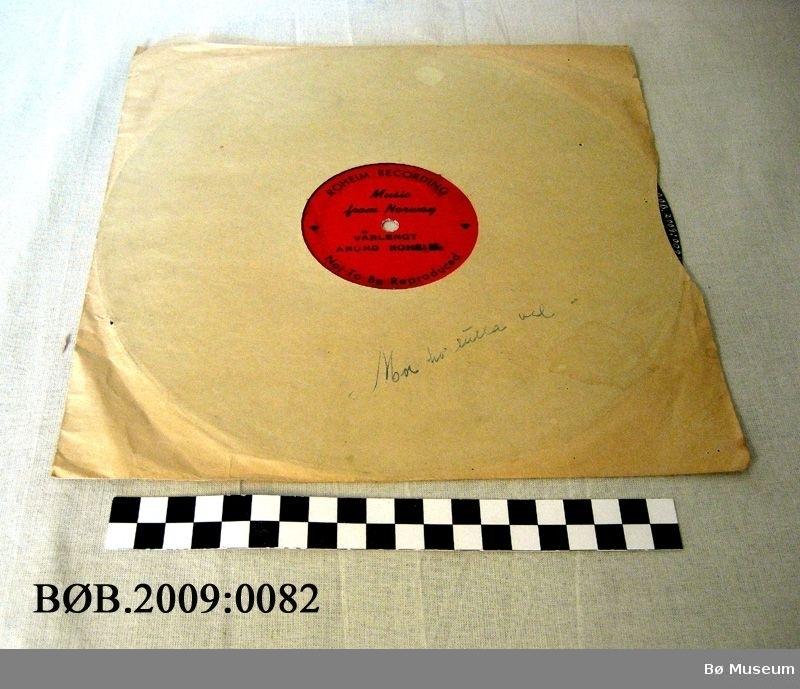 Grammofonplate